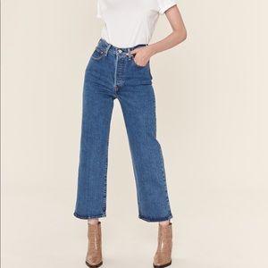 Levi's Premium Ribcage High Waist Straight Jean